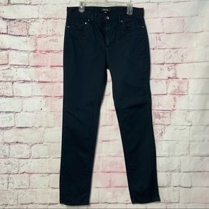 RING IF FIRE Navy Blue Chino Straight Leg Pants